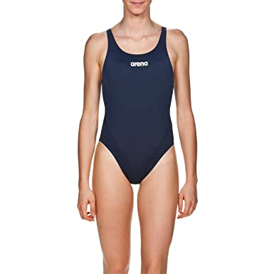 31f90b0ecb1f arena W High Bañador Deportivo Mujer Solid Swim Tech Alto
