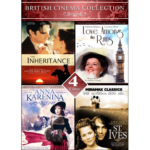 - British Cinema Collection 2 - 4 Films: The Inheritance, Love Among the Ruins, Anna Karenina, & St. Ives