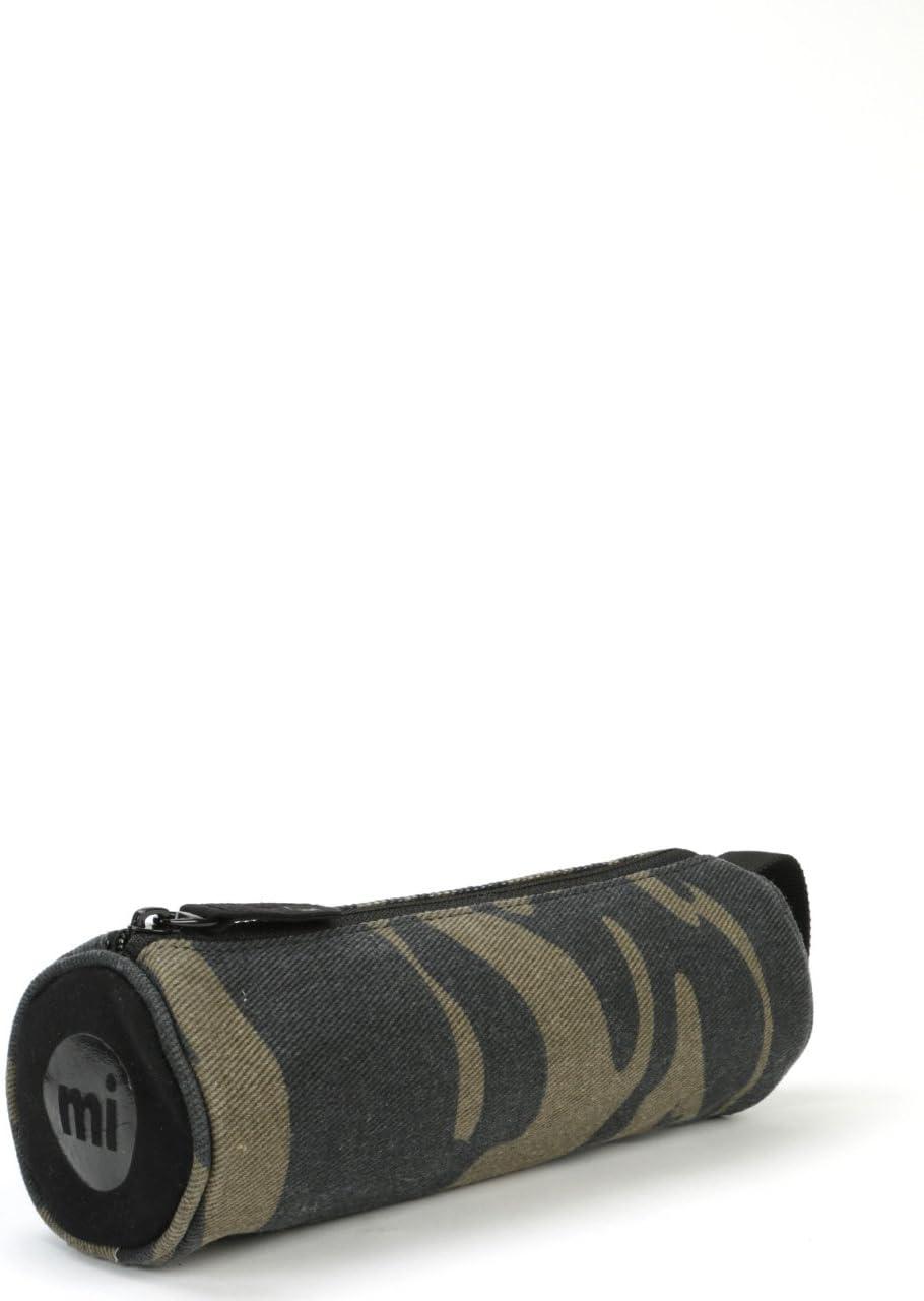 Khaki Mi-Pac Canvas Camo Pencil Case