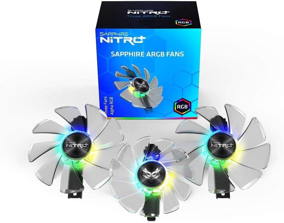 Sapphire Gear ARGB Fan 3 en 1 - Soporte para Nitro+ RX 5700 Series ...