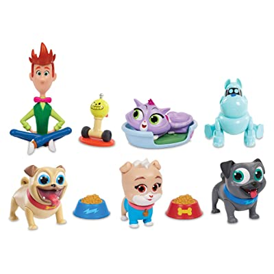 Large Stickers 10 Puppy Dog Pals Hissy Party Favors Rolly Bingo