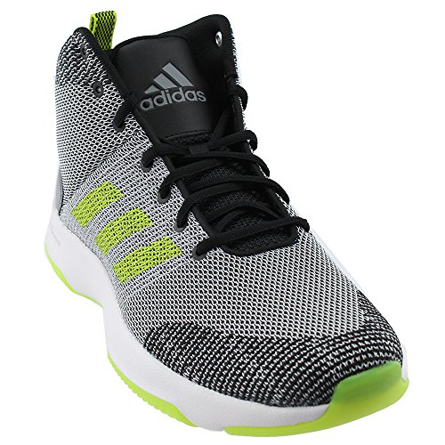 new product 34f9d 6d767 Galleon - Adidas Neo Mens CF Executor Mid Basketball-Shoes, Grey FiveSEMI  Solar YellowGrey Two, 10.5 Medium US