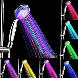 Changing Shower Head Bathroom Showerheads AnGeer LED Multicolor 7 Colors Water Glow light Shower head