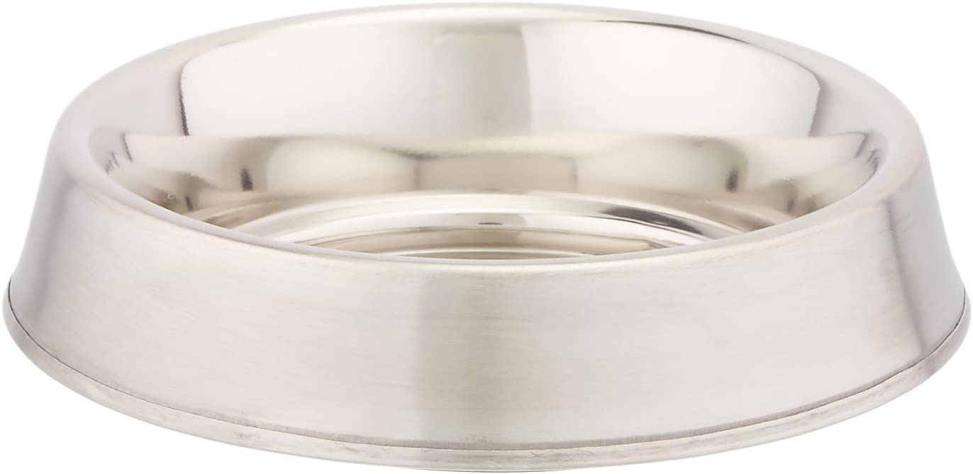 GoGo Pet Products Stainless Steel Anti-Ant Pet Dog Bowl, 8-Ounce