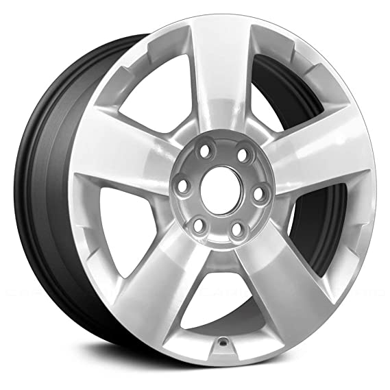 Amazon Com Value 5 Spokes Charcoal Gray Factory Alloy Wheel Oe