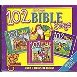 102 BIBLE SONGS-3 CDS