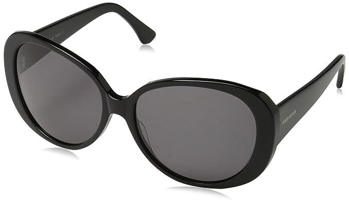 dc9a705ff5f Amazon.com  Obsidian Sunglasses for Women Fashion Oversized Round Frame 12
