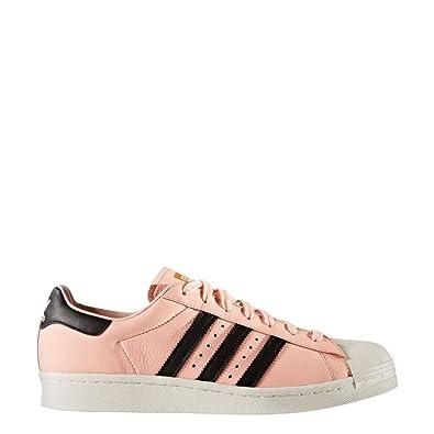 Chaussures adidas - Superstar corail/noir/