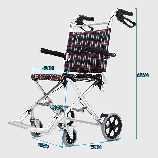 Amazon.com: NANANA Silla de transporte para silla de ruedas ...
