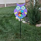 Home-X Garden Wind Spinners. Owl
