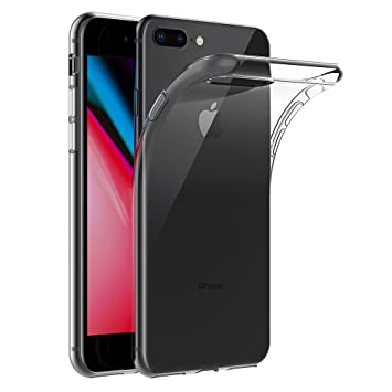 AICEK Funda iPhone 7 Plus/iPhone 8 Plus, iPhone 7 Plus Funda Transparente Gel Silicona Apple iPhone 7 Plus Premium Carcasa para iPhone 7 Plus/iPhone 8 ...