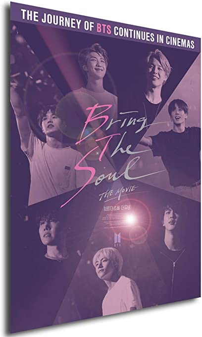 Instabuy Poster Film Playbill Kpop Bts Bring The Soul