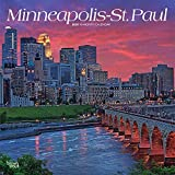 Minneapolis St. Paul 2020 12 x 12 Inch Monthly Square Wall Calendar, USA United States of America Minnesota Midwest City