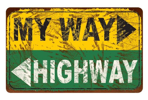 Ohio Wholesale My Way Highway Wall Art, from our Americana Collection