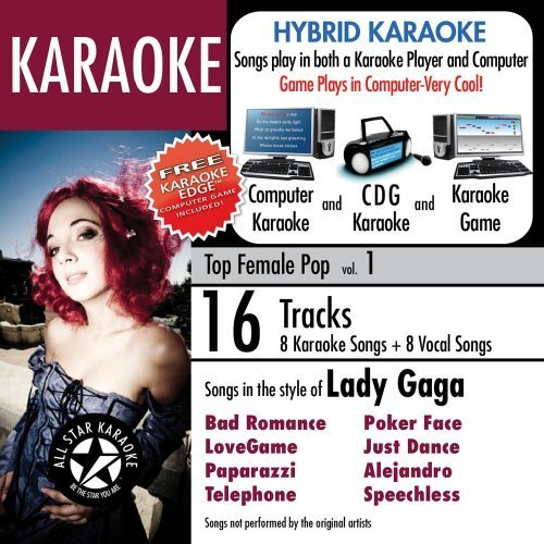 ASK-820 Karaoke: Hits in style of Lady Gaga 1 by Various Artists ()