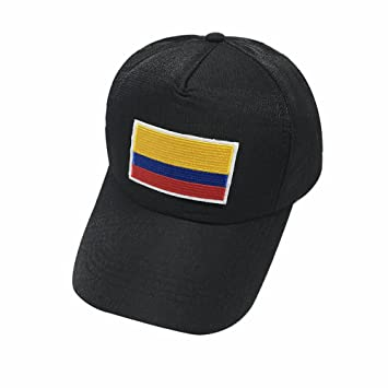 Wanson 2018 Copa del Mundo Colombia Copa Mundial De Fútbol Gorras FIFA Béisbol Gorra Equipo Nacional Fans Regalos,Black: Amazon.es: Deportes y aire libre