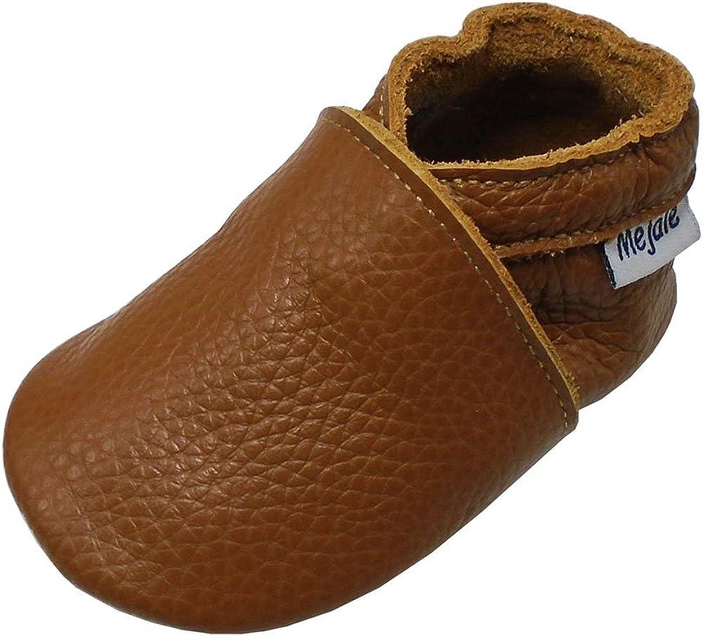Soft Sole Leather Baby Shoes Firstwalk Infant Kids Children Car Oceanblue 12-18M