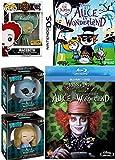 Alice in Wonderland Nintendo DS Super Bundle Johnny Depp Blu Ray Tim Burton Funko POP Disney: Alice: Through The Looking Glass - Iracebeth (Patina) #185 Hot Topic Exclusive Dorbz Figure #115 117