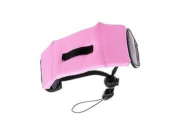 FOUGNOGKISSS Correa de muñeca Flotante Impermeable de la Espuma del Flotador de la cámara para Las cámaras (Rosa): Amazon.es: Electrónica