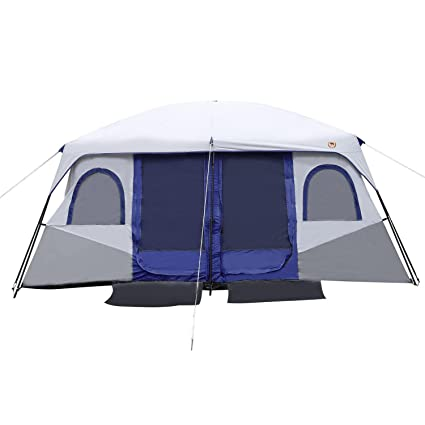 Amazoncom Family Camping Tents 8 10 Person Dual Layer