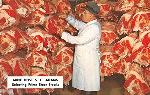 Danvers Massachusetts S.C. Adams Selecting Prime Steaks for sale  Delivered anywhere in USA