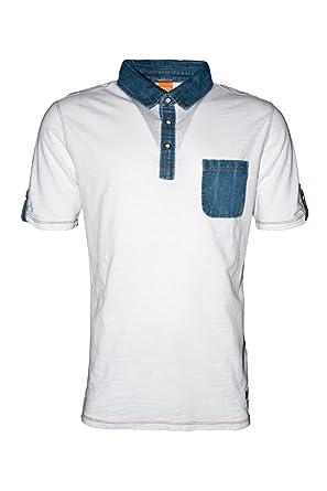 Boss Orange Pasio 50264772 - Polo para Hombre, Color Blanco, Talla ...