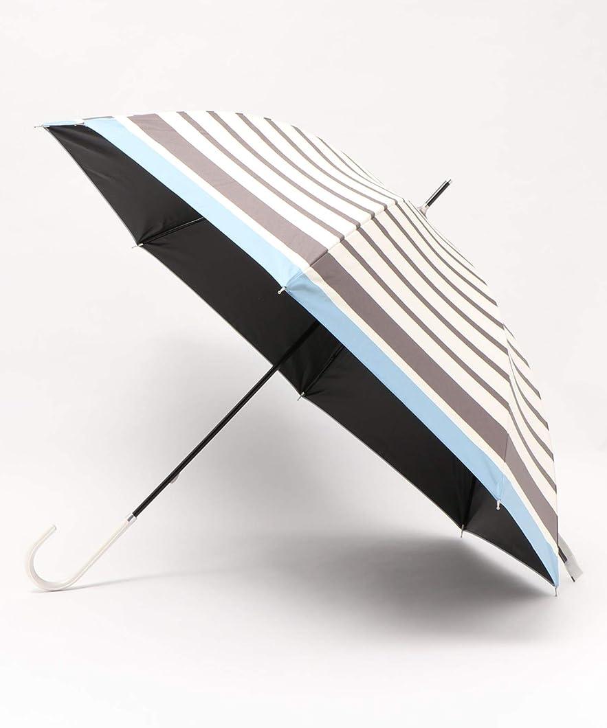 追い出すカウンターパート廊下日傘 かわず張り 完全遮光 遮熱 特殊2重張り ボタニカル柄 ワイドショート