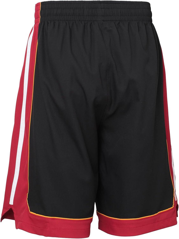 adidas Miami Heat NBA Baloncesto Shorts Swingman (S): Amazon.es ...