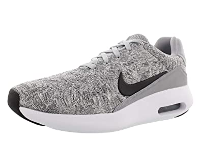 purchase cheap b957f 3ef7f Nike Men's Air Max Modern Flyknit, Wolf Grey/Black-White, 13 ...