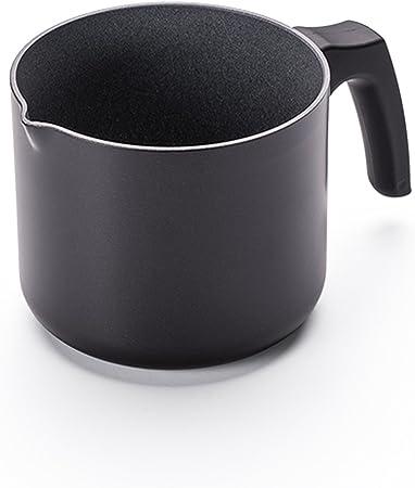 ROSMARINO Jarra de Café Turco - Cafetera Turca de Acero Inoxidable 18/10 - Cafetera Inducción Apta para Todo Tipo de Cocinas y Lavavajillas (1,6 L (no inducción)): Amazon.es: Hogar