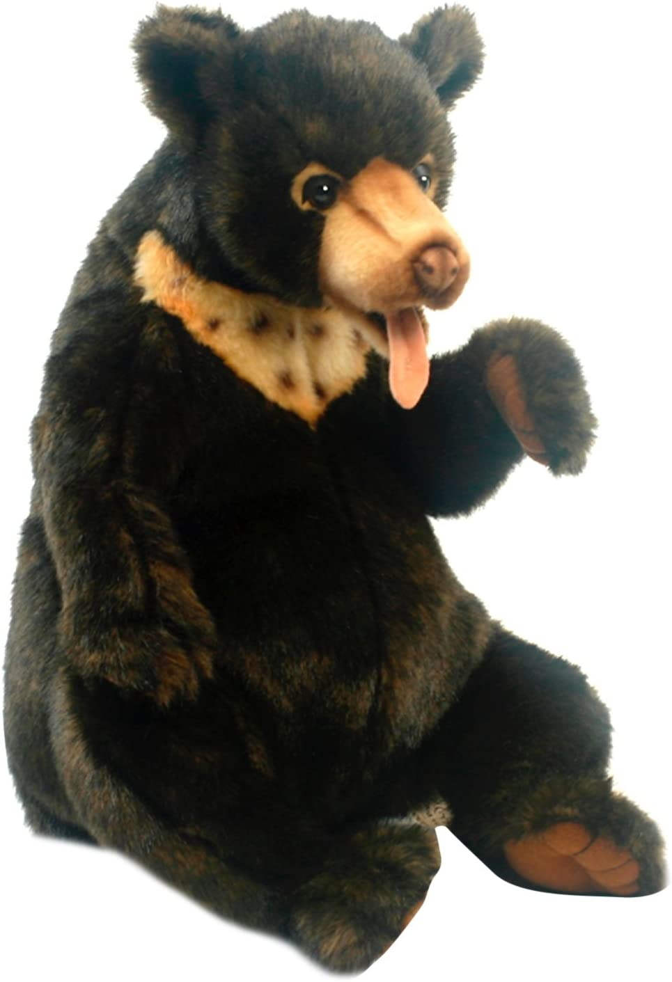 Sunbear Stuffed Animal, Hansa 5232 28 Centimeter Sunbear Cub Sitting Plush Soft Toy Amazon Co Uk Toys Games