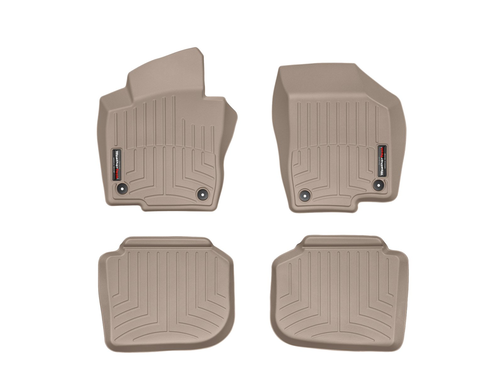 WeatherTech First and Second Row FloorLiner (Tan)