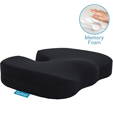 Amazon.com: Cojín de gel para silla de oficina, coche, silla ...