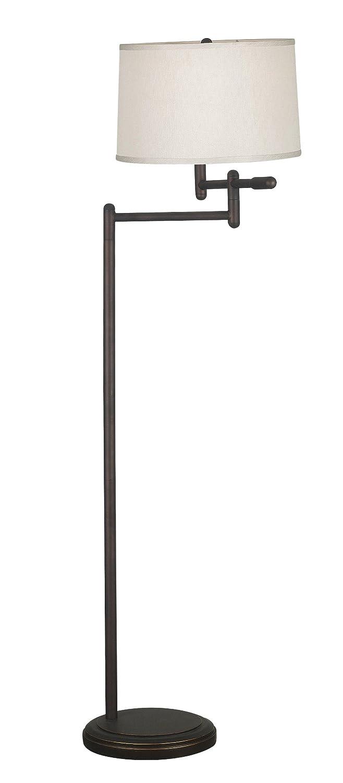 Kenroy Home 20941CB Theta Swing Arm Floor Lamp, Copper Bronze ...