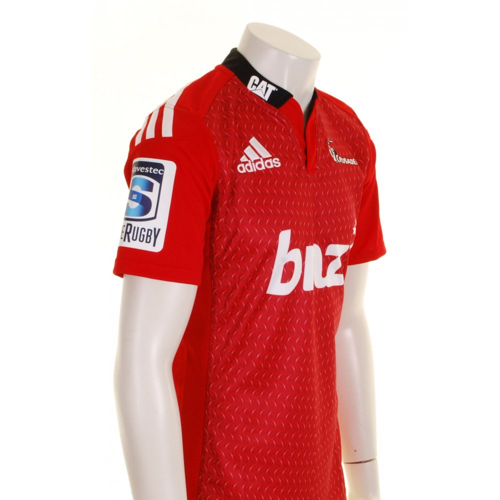 a79bb12139f Canterbury Crusaders 2015 Home Super 15 S/S Rugby Shirt - size XL:  Amazon.co.uk: Clothing