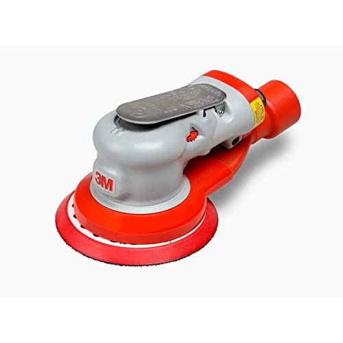 3M Elite Central-Vacuum-Ready Random Orbital Sander, 28506, 5 in, 3 16 in Orbit, 1 per case