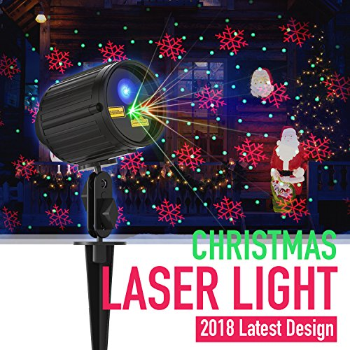 Christmas Light Projector Laser Lights Motion Outdoor