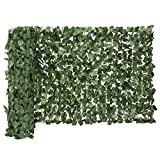 Best Choice Products 94x59in Artificial Faux Ivy Hedge Privacy Fence Wall Screen, Leaf and Vine Decoration for Outdoor Decor, Garden, Yard - Green