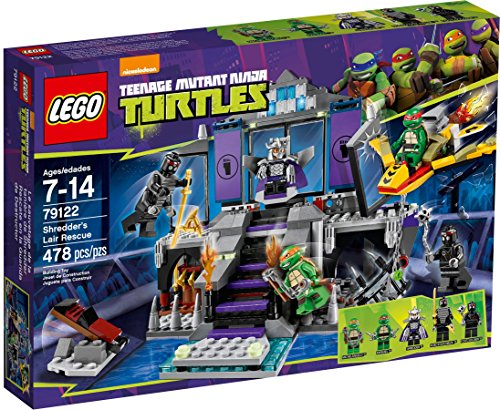 LEGO Teenage Mutant Ninja Turtles Theme - 79122 Shredders Lair Rescue