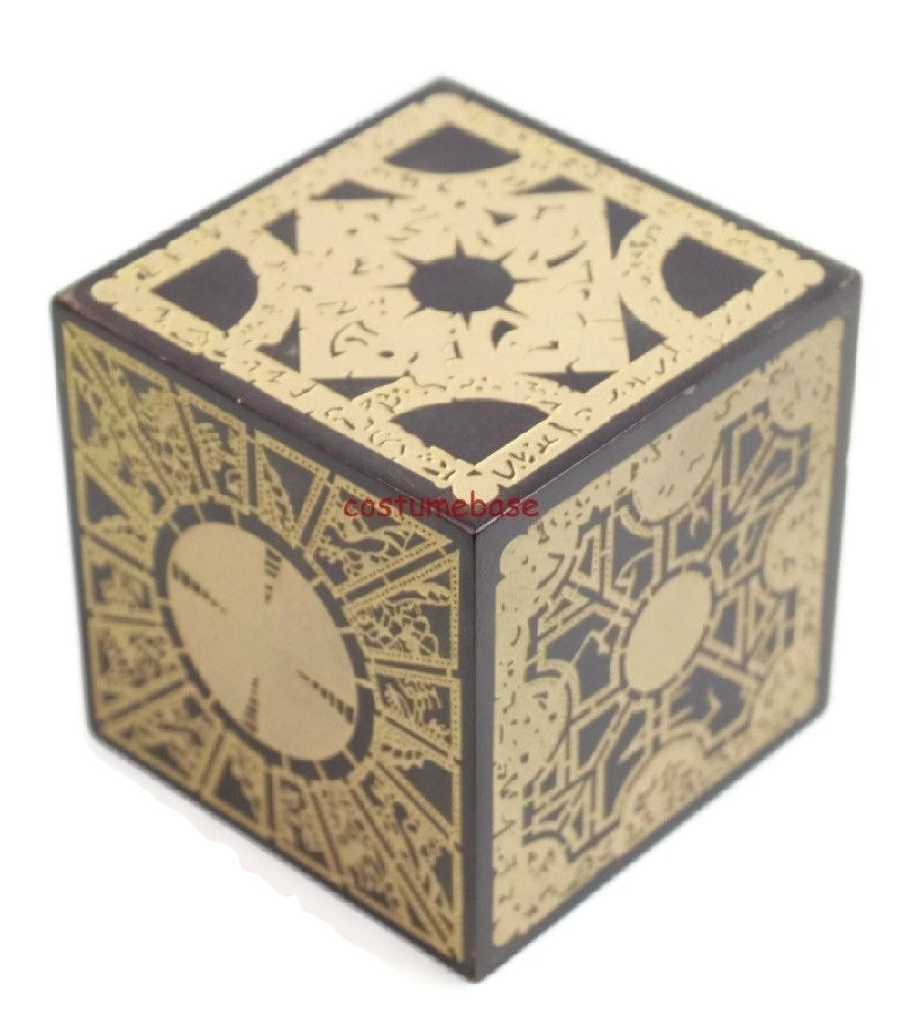 costumebase Hellraiser Puzzle Box Lemarchand Solid Wood Lament Le' Marchant Props by costumebase