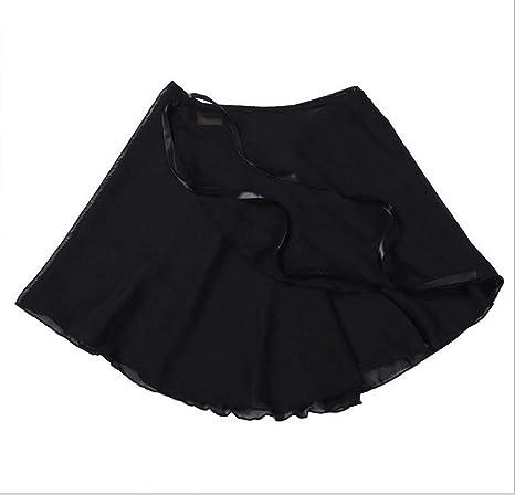 WENDYWU - Falda de Ballet para Mujer (Gasa de 38 cm), Color Negro ...