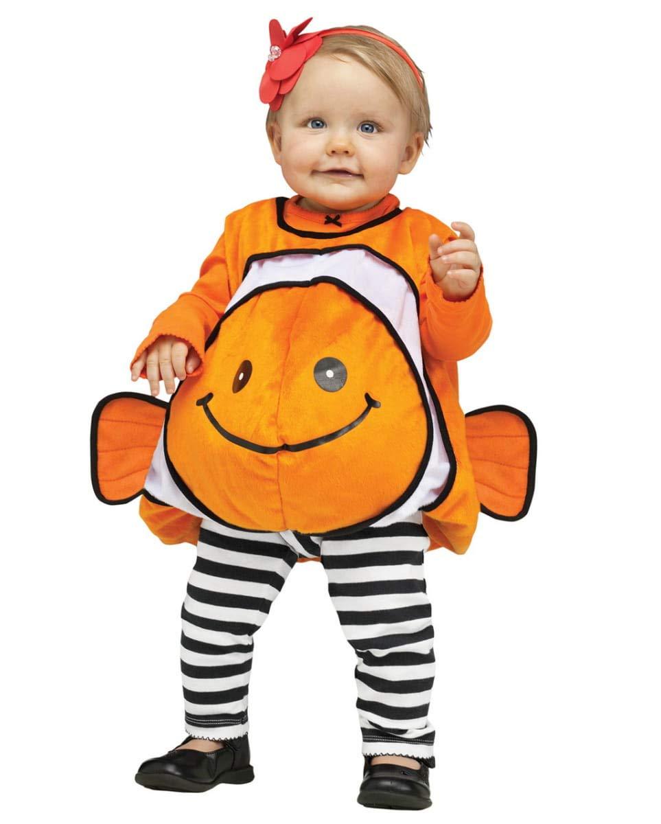 Horror-Shop Traje de bebé Nemo Clownfish Naranja M: Amazon.es ...