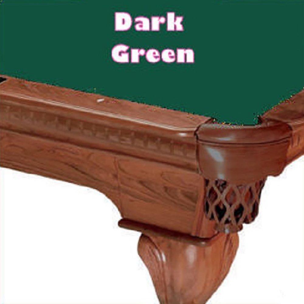 10 'シモニスクロス760ダークグリーンビリヤードPool 10 Clothフェルト Table Clothフェルト Table B00GP2ESK0, 野球専門店 SIZE UP:da6a84bf --- sharoshka.org