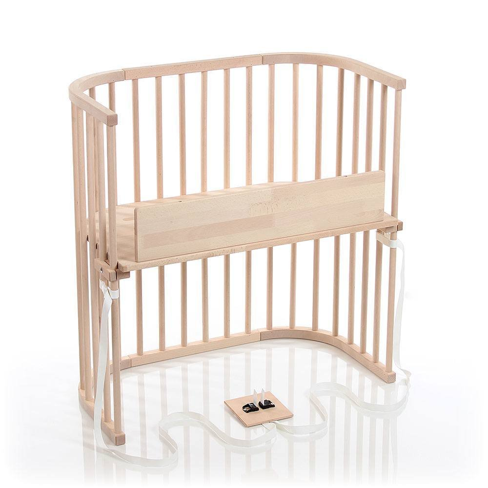 babybay Bedside Sleeper (Untreated Finish)
