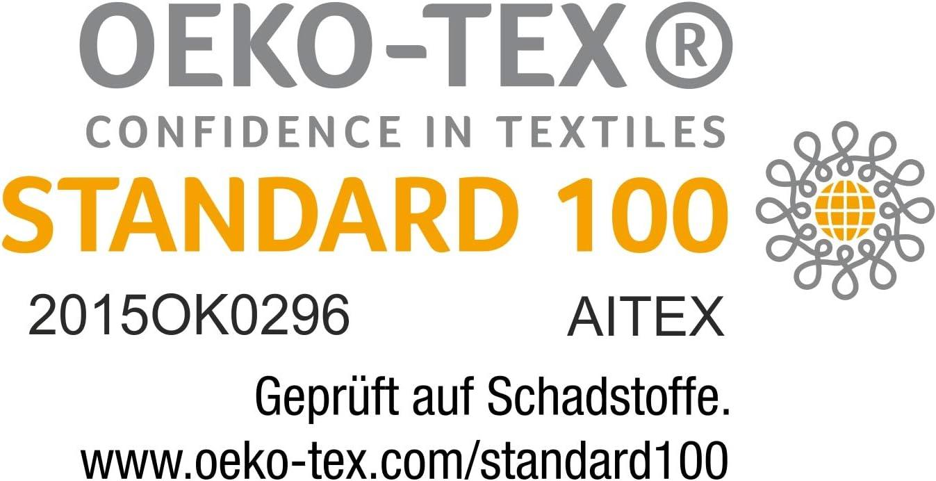 Oeko TEX Std 100 Zertifizierung Weich und Saugstark Julie Julsen 4 TLG Handtuchset 2 Badet/ücher 2 Handt/ücher Chemikalien-Frei 600g//m/² Orange 100/% Baumwolle Waschmaschinenfest