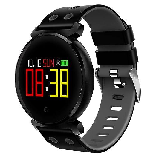 Ganeep Sport3 Smart Watch Hombres Presión Arterial IP68 Impermeable Rastreador de Ejercicios Reloj Smartwatch para Dispositivos portátiles con iOS Android ...