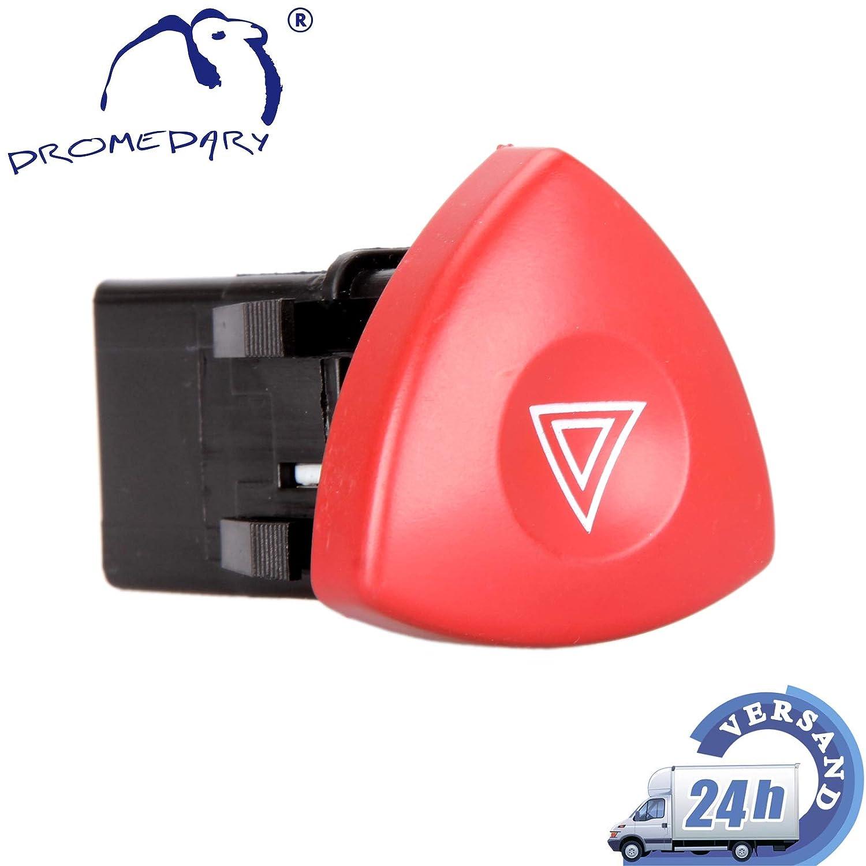 Dromedary 8200442724 Warnblinkschalter Warnblinker Warnblinklicht Schalter