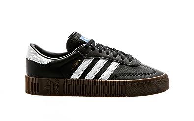 adidas Originals Sambarose W Core Black-Footwear White-Gum 9