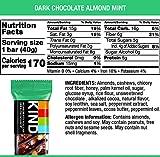 KIND Bars, Dark Chocolate Mint, Gluten Free, Low