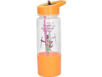 Creative Tops Roald Dahl plástico Kids Botella de Agua con extraíble Snack Pot y Impreso